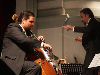 Concierto para violonchelo y orquesta  fue ovacionado por los asistentes al Teatro Municipal