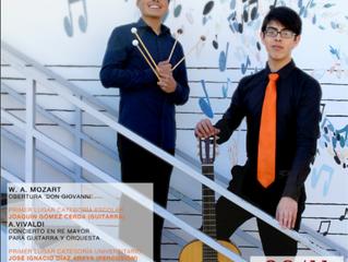 Jóvenes talentos nacionales debutarán en esperado concierto de temporada en La Serena