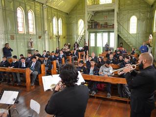 Establecimientos municipales de la región disfrutaron de entretenidos conciertos educacionales