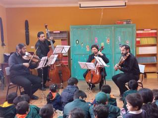 Músicos de la Orquesta Sinfónica Universidad de La Serena, protagonizarán I Ciclo de Concierto Educa