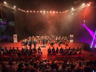 Las XXXII Semanas Musicales culminan con exitoso concierto de la Orquesta Sinfónica Universidad de L
