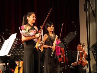 Más de 700 personas de Vicuña y La Serena disfrutaron del I Concierto de Temporada de Cámara 2016.