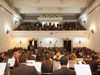 Orquesta Sinfónica Universidad de La Serena deslumbra a los asistentes en primer concierto de la tem