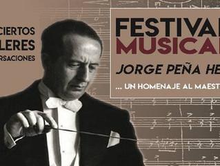 Concierto sinfónico con ensamble coral estrenará obras escritas por Jorge Peña Hen