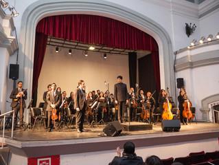 Orquesta Sinfónica Universidad de La Serena ofrece conciertos y clases musicales a miles de estudian
