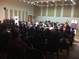 Estudiantes de música ULS agradecieron concierto ofrecido por la Orquesta Sinfónica