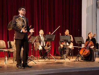 Ensamble de cuerdas y vientos culminó exitosa temporada de conciertos de cámara en Coquimbo y La Ser
