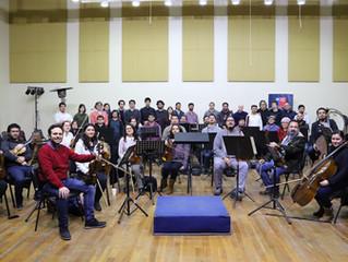 Músicos se perfeccionan en Dirección Orquestal junto al Maestro David Händel