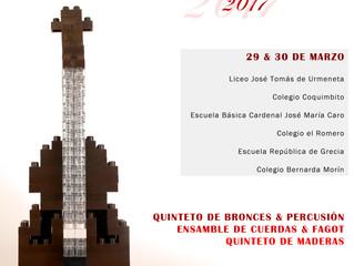 Orquesta Sinfónica Universidad de La Serena ofrecerá 6 conciertos educacionales en sectores urbanos