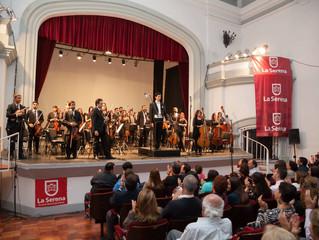 Orquesta Sinfónica Universidad de La Serena protagoniza exitoso concierto ante un Teatro Municipal c