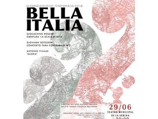 Concierto inspirado en la 'Bella Italia' cautivará a la región con sublime propuesta musical