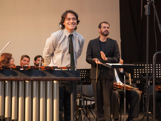 Jóvenes promesas de la música cautivaron a los asistentes en concierto de la Orquesta Sinfónica Univ