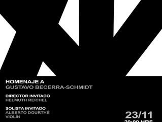 Orquesta Sinfónica pondrá broche de oro al XV Festival MUSICAHORA con homenaje al maestro Gustavo Be