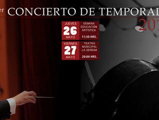 Con concierto gratuito en liceo de Guayacán, Orquesta Sinfónica Universidad de La Serena inicia la S