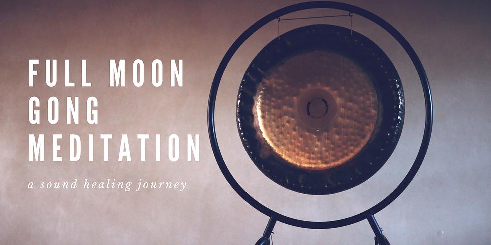 Full Moon Gong Meditation