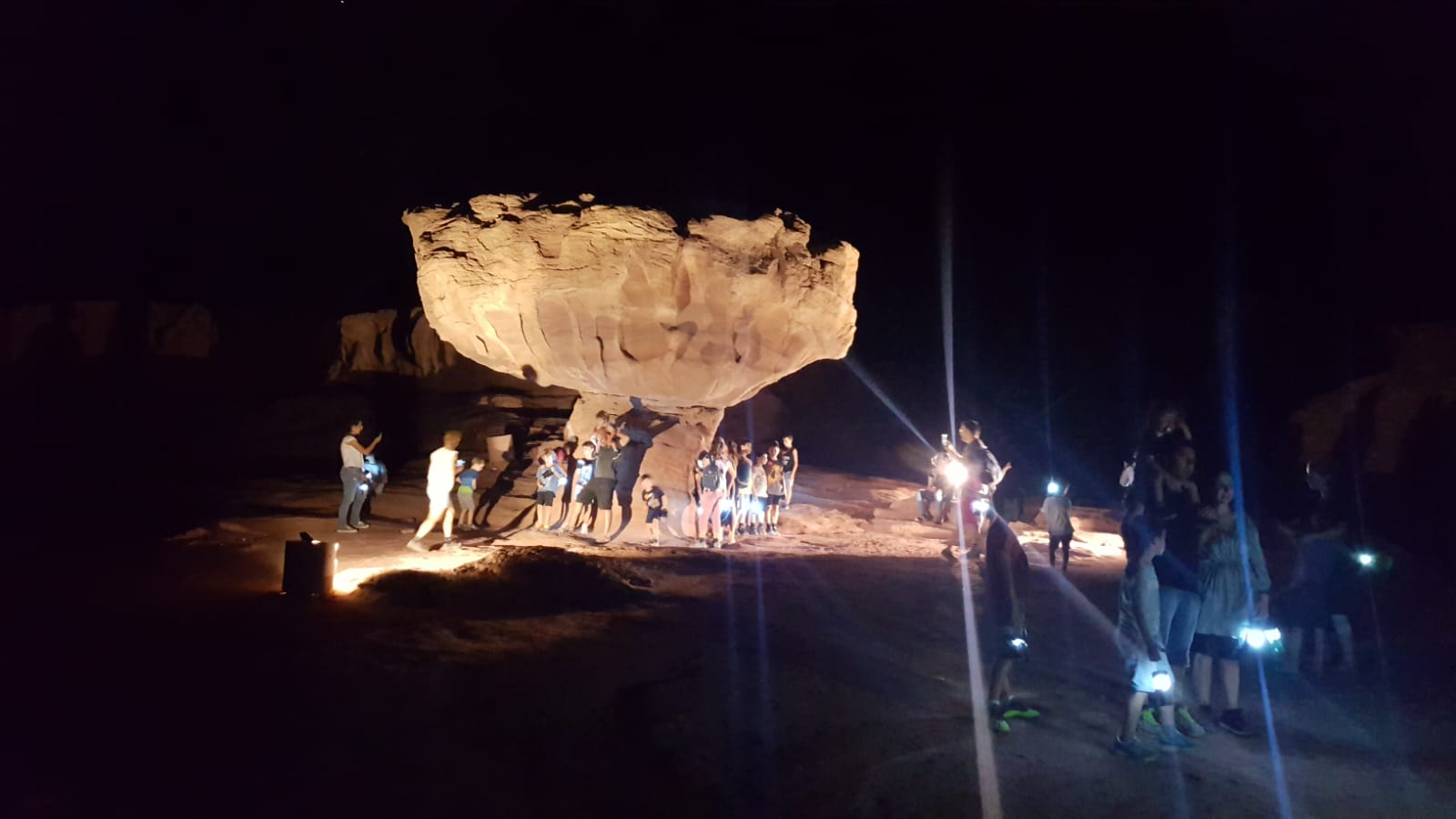 Timna night tour (avec torches)