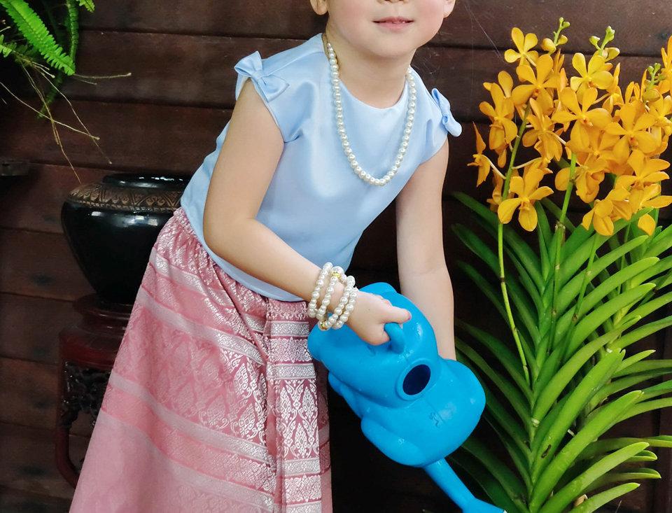 YenYen blue-pink sarong