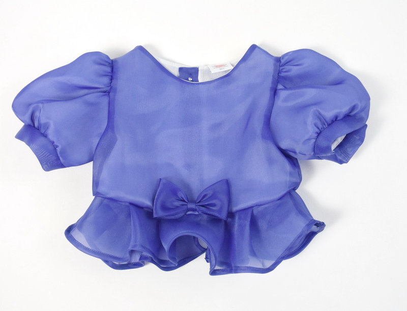 metta blouse - blue