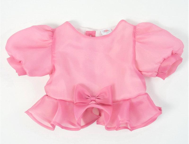 metta blouse - dark pink