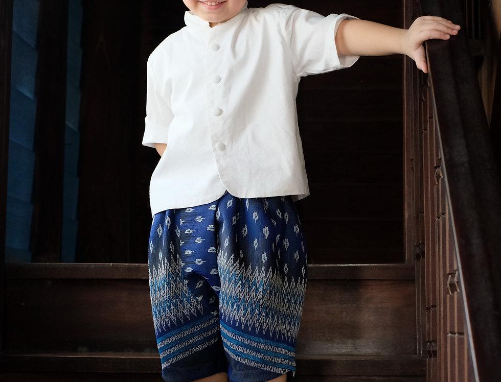 Jao Khun - white/blue