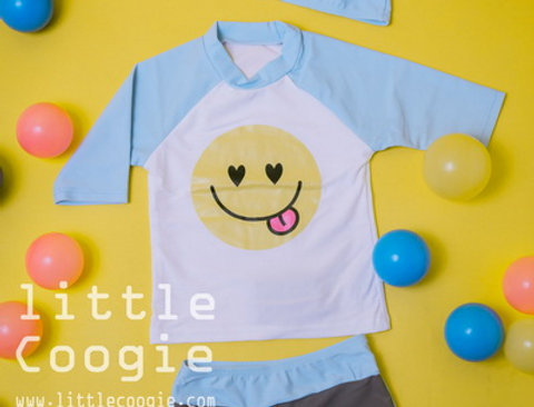 SW-019 Smiley blue