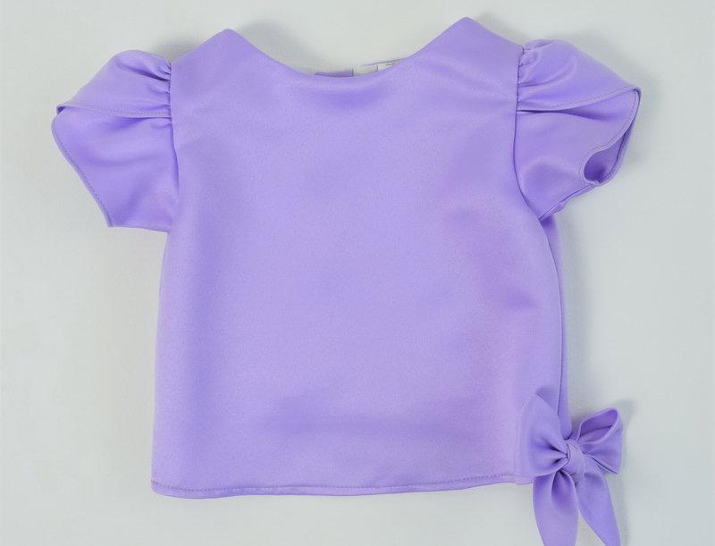 Khun Ngam blouse - Lilac