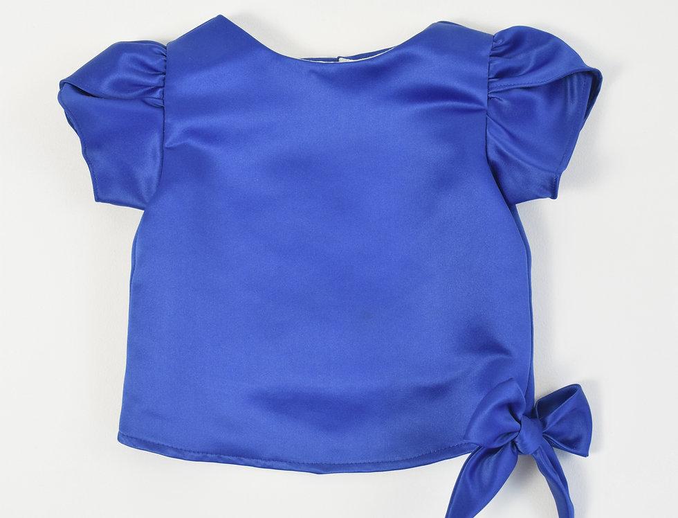 Khun Ngam blouse - Dark blue