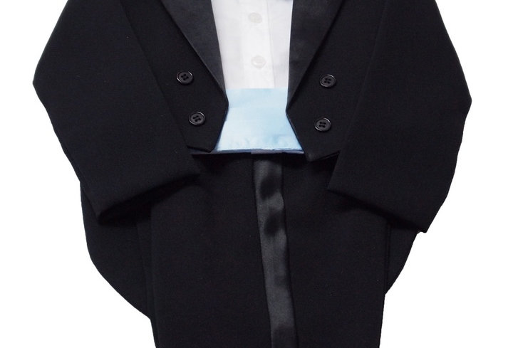 Tuxedo Black- Blue