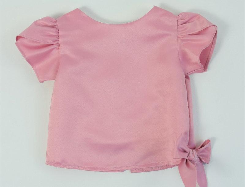 Khun Ngam blouse - Dark pink