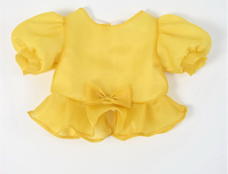 metta blouse - yellow