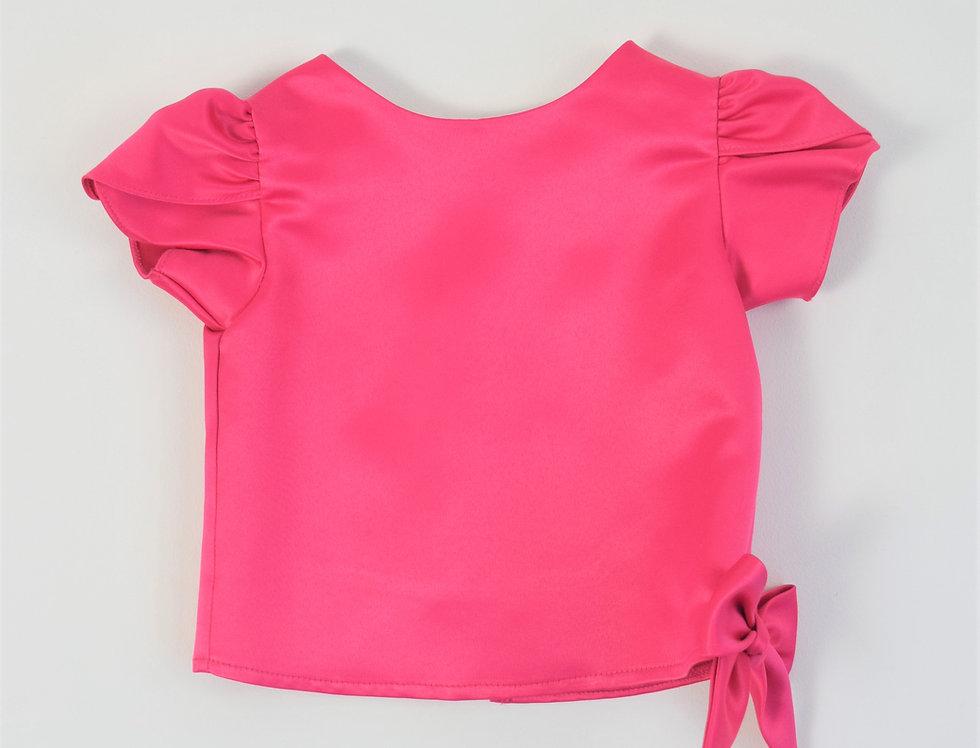 Khun Ngam blouse - fuschia
