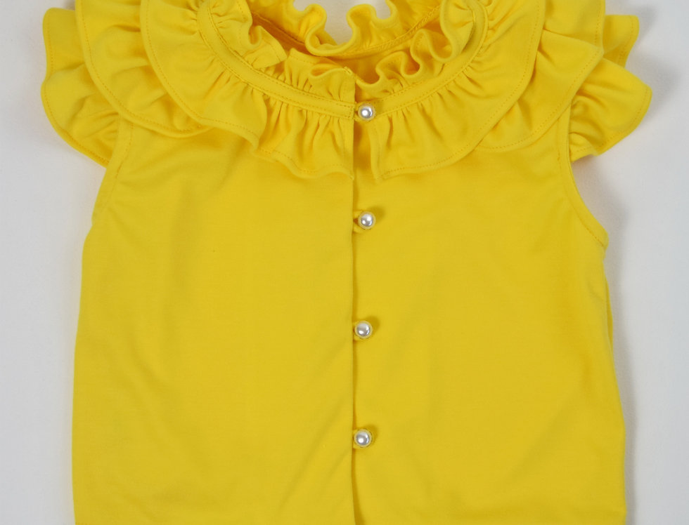 Bai Bua Blouse - yellow