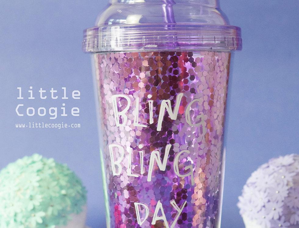 Fancy Acrylic Glass -Blink-lavender