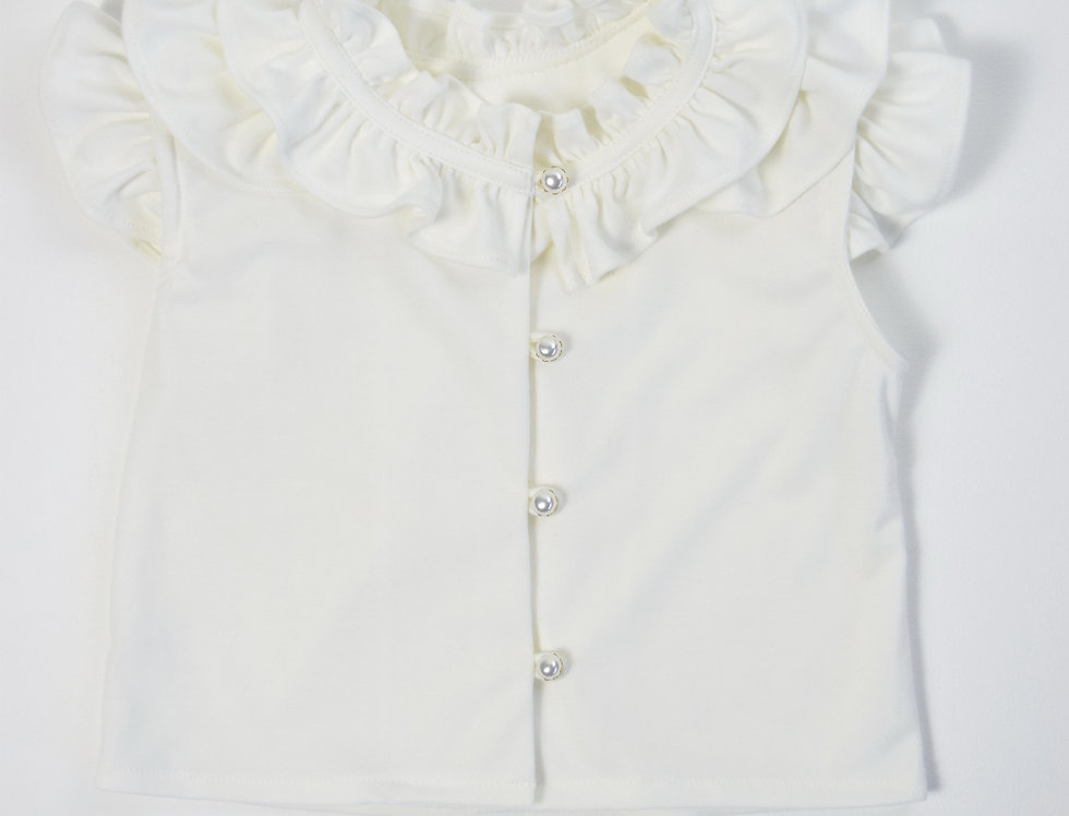 Bai Bua Blouse - white