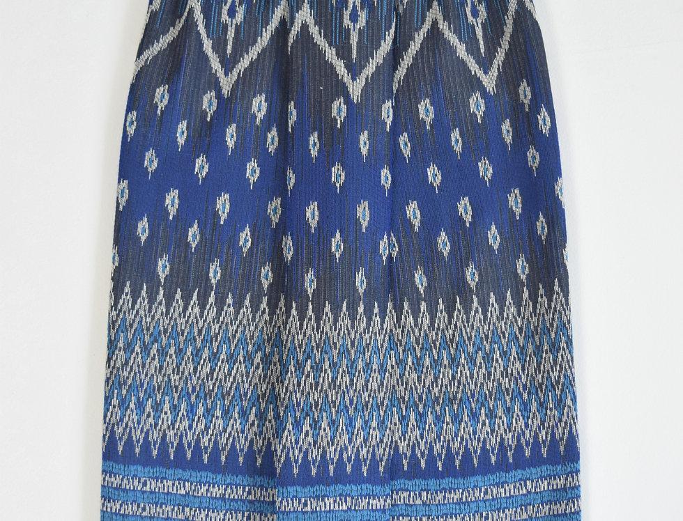 Rajanee Sarong - navy blue