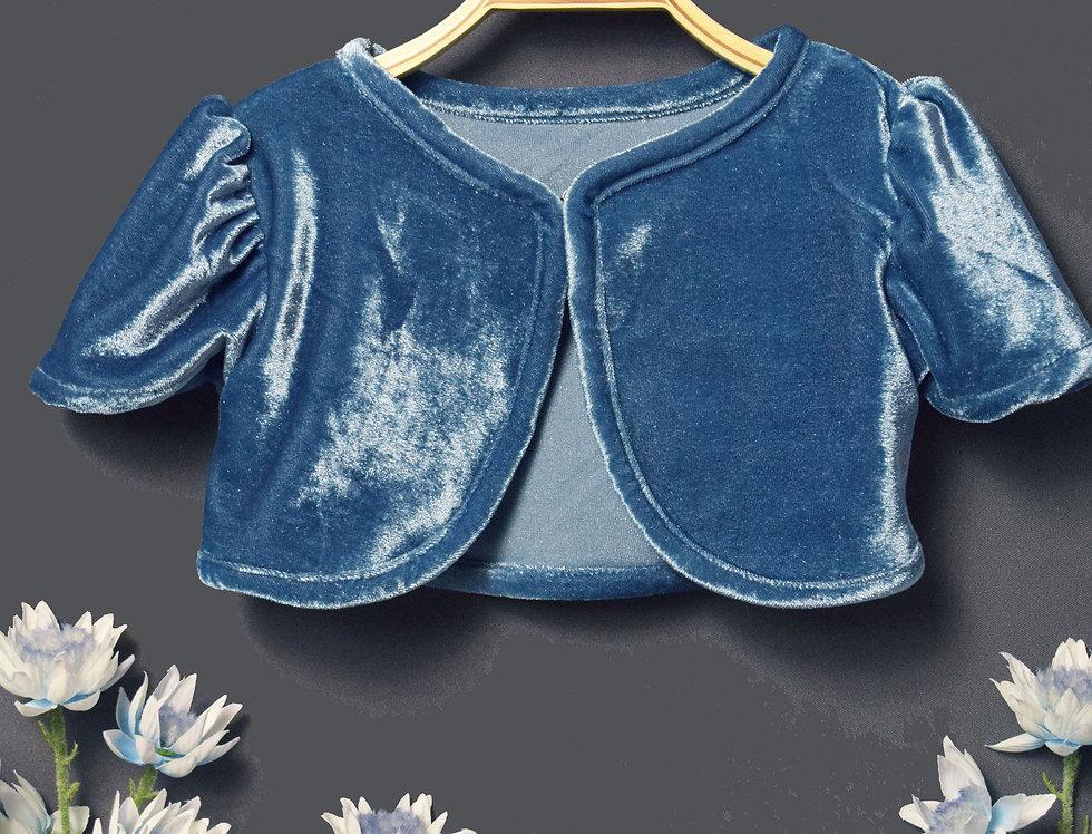 cardigan-03 Blue Velvet