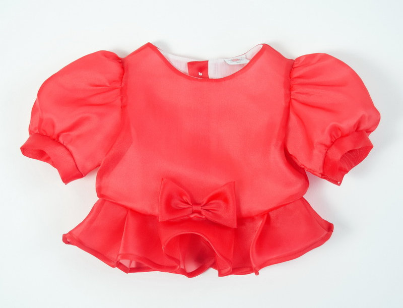 metta blouse - red