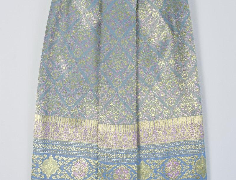 Sarong - dusty blue