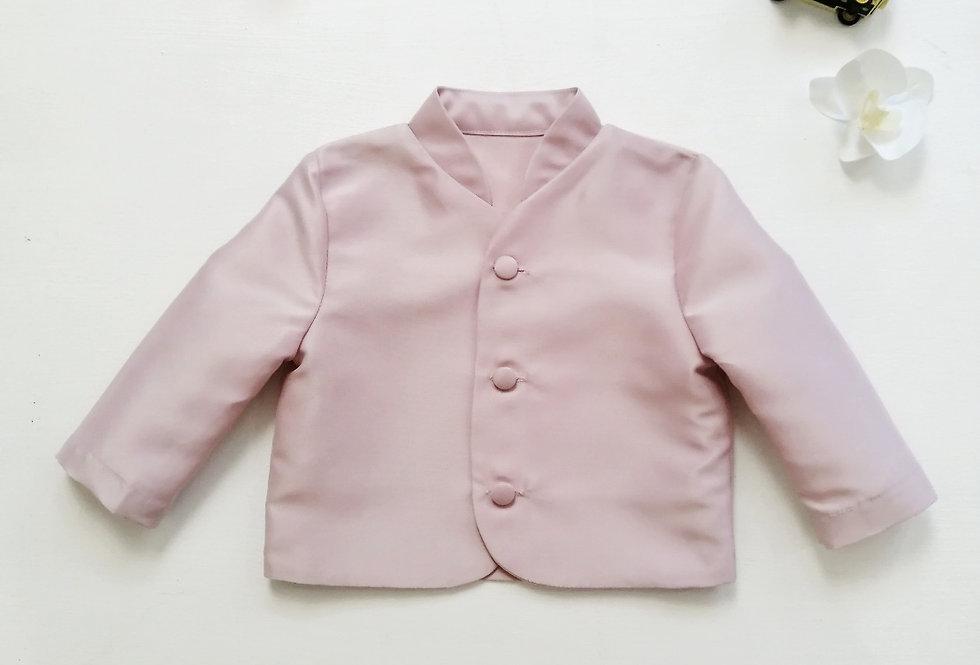 ชุดไทยเด็กชาย-TM-dusty pink