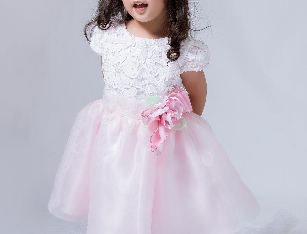ชุดราตรีเด็ก SS-2041 Pink