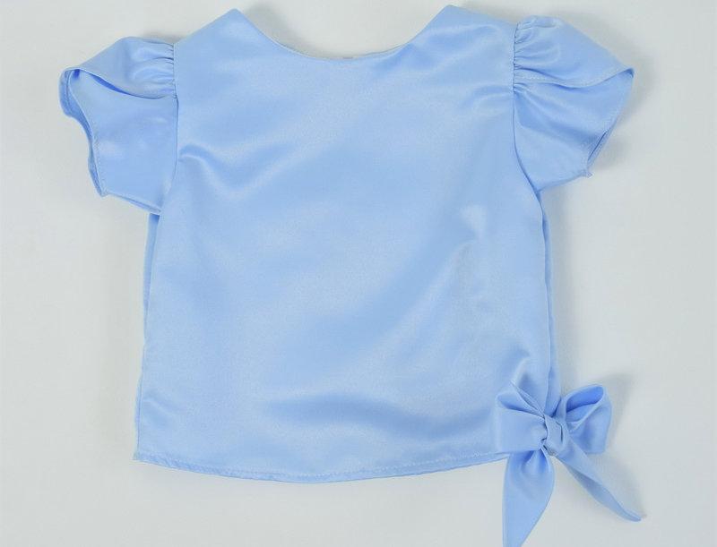 Khun Ngam blouse - blue