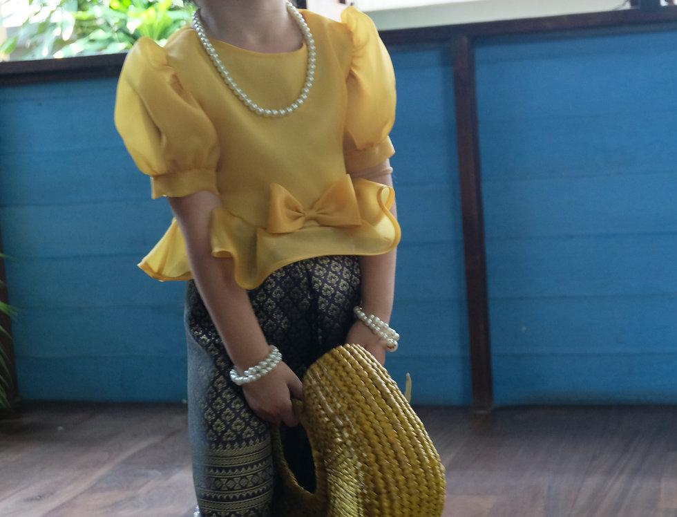 Metta Yellow /Sarong
