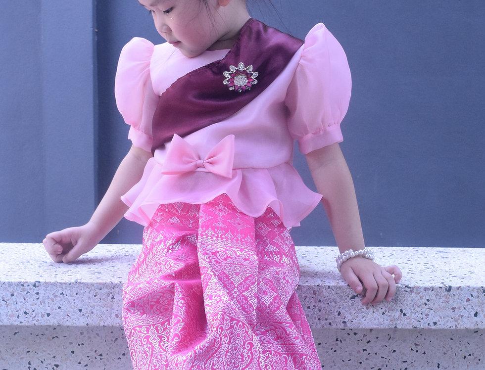 Metta Pink /Sarong set