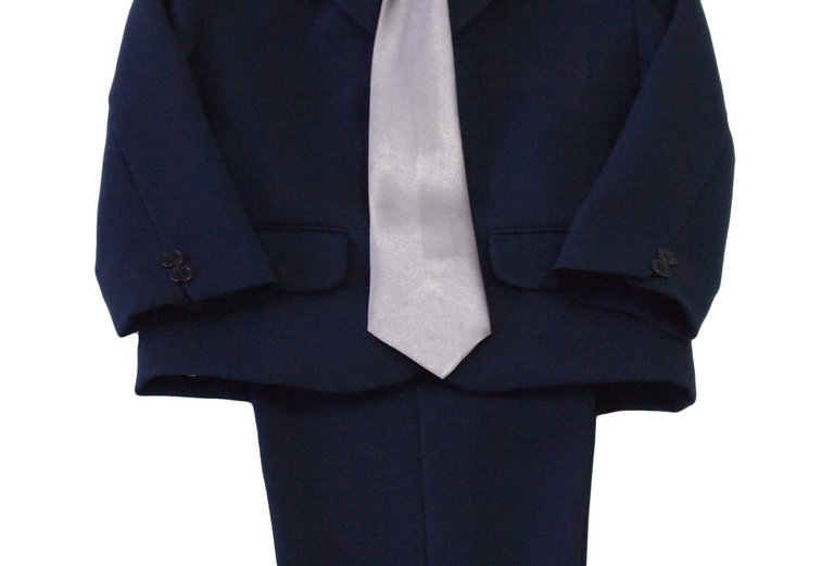 (Suit) TH100 Navy-Silver