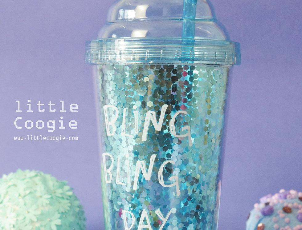 Fancy Acrylic Glass -Blink-Blue
