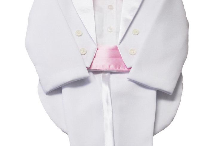 Tuxedo White-Pink