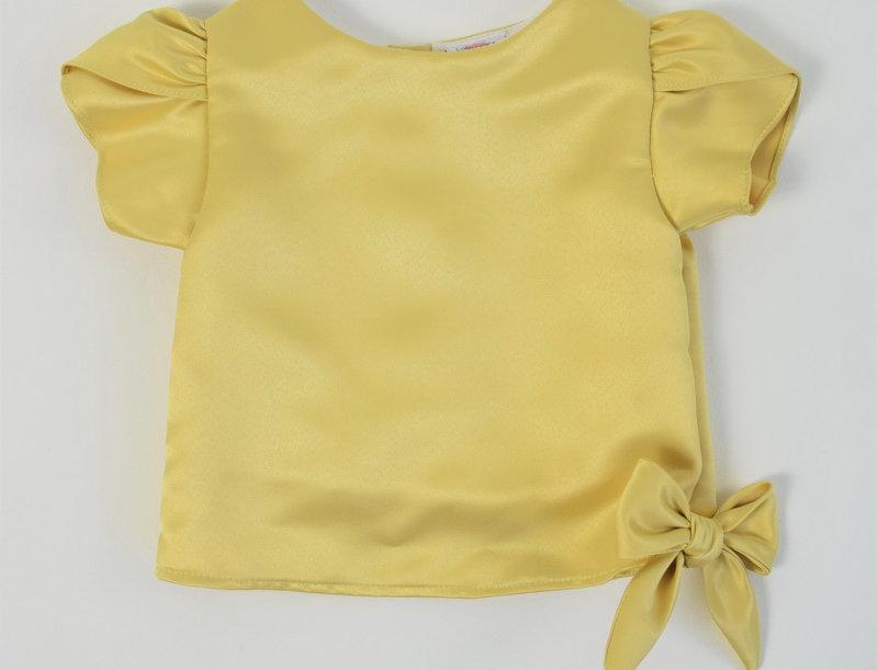 Khun Ngam blouse - Light yellow