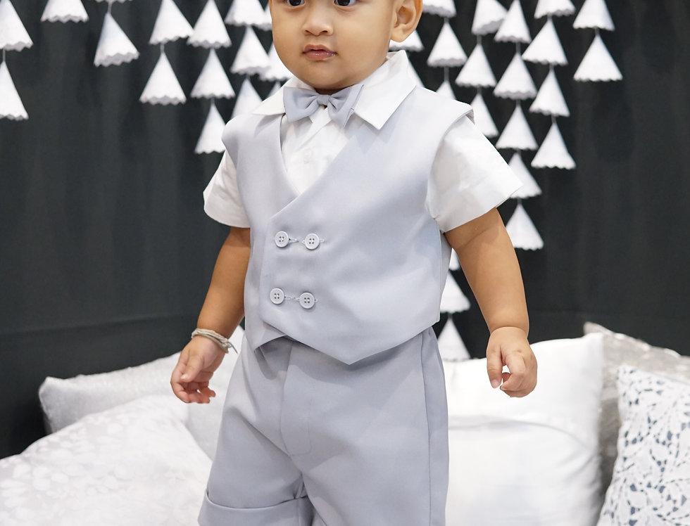 (Vest suit) TH001 Silver