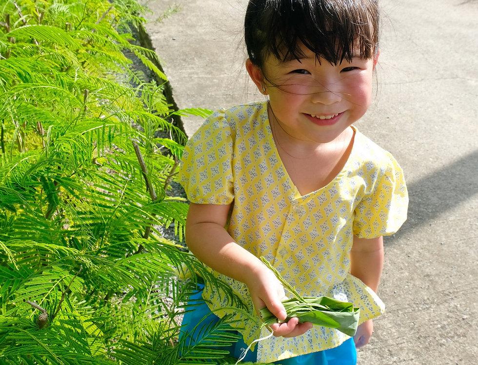 ชุดไทยเด็ก J1-Yellow/Blue