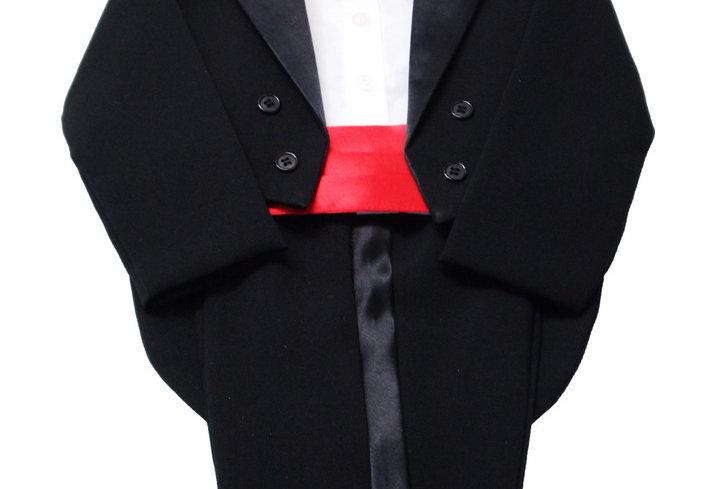 Tuxedo Black- Red